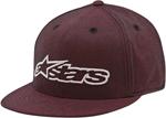 Alpinestars BOURKE Flat Bill Flex Fit Hat/Cap (Red)