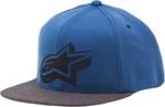 ALPINESTARS KNOX Flat Bill Snapback Hat (Blue)