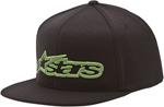 ALPINESTARS LATIMER Flat Bill Snapback Hat (Black)