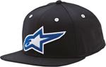 ALPINESTARS HOLT Flat Bill Snapback Hat (Black)