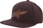 ALPINESTARS SPECK Flat Bill Strapback Hat (Brown)
