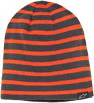ALPINESTARS GEMZ Reversible Striped Beanie (Charcoal)
