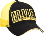 MOOSE Utility Division MUD PRO STAFF Curved Bill Adjustable Hat/Cap (Black)