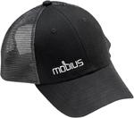 MOBIUS Classic Snapback Mesh Hat/Cap (Black)