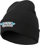 Throttle Threads DRAG SPECIALTIES Acrylic Stocking Cap/Beanie (Black)
