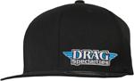 Throttle Threads DRAG SPECIALTIES Flat-Bill Hat/Cap (Black)