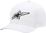 Alpinestars CORPORATE Curved Bill Flex Fit Hat/Cap (White)