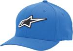 Alpinestars CORPORATE Curved Bill Flex Fit Hat/Cap (Blue)