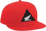 Factory Effex Official Licensed HONDA Kids Snap-back Flat Bill Hat/Cap (Red)