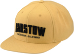 100% MX Motocross BARSTOW HUTCH Flat Bill Snap-Back Hat/Cap (Khaki)