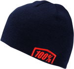 100% MX Motocross CAMPBELL Acrylic Skully Fit Beanie (Navy)