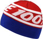 100% MX Motocross RALLY Acrylic Skully Fit Beanie (Red)