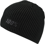 100% MX Motocross RAW Acrylic Cashmere Skully Fit (Black)