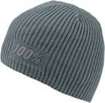 100% MX Motocross RAW Acrylic Cashmere Skully Fit (Charcoal Grey)