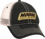 MOOSE Racing 2017 MUD Snapback Curved Bill Hat/Cap (Black)