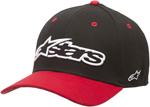 ALPINESTARS 2017 REP Curved-Bill Flex-Back Hat/Cap (Black)