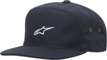ALPINESTARS 2017 CANYON Arched-Front Nylon-Strap-Back Hat/Cap (Navy)