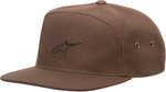 ALPINESTARS 2017 CANYON Arched-Front Nylon-Strap-Back Hat/Cap (Brown)