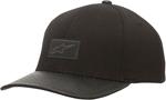 ALPINESTARS 2017 GENTRY Curved-Bill Flex-Back Hat/Cap (Black)