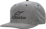 ALPINESTARS 2017 PLATFORM Flat-Bill Snap-Back Hat/Cap (Black)