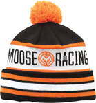 MOOSE Racing 2017 DRIFT Beanie (Black/White/Orange)