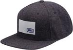 100% MX Motocross NOBLE Speckled Wool Flatbill Snapback Hat/Cap (Navy) One Size