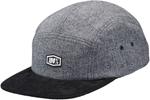 100% MX Motocross SCRUB 5 Panel Camper Flatbill Snapback Hat/Cap (Heather Gray) One Size