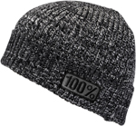 100% MX Motocross ROOTS Merino Wool Beanie/Hat (Charcoal Heather) One Size
