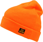 100% MX Motocross MIKKELI Relaxed Fit Beanie/Hat with Cuff (Orange) One Size
