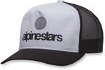 Alpinestars ORIGIN Curve-bill Snap-Back Trucker Hat/Cap (Black)