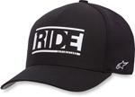 Alpinestars RIDE Curve-bill Flex-Fit Hat/Cap (Black)
