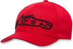 Alpinestars BLAZE Curve-bill Flex-Fit Hat/Cap (Red/Black)