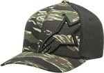 Alpinestars CORP CAMO Curve-bill Flex-Fit Hat/Cap (Military Green)