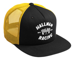 Thor MX Motocross Hallman Snapback Hat (FINISH LINE Black/Gold)