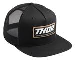 Thor MX Motocross Standard Trucker Snapback Hat (Black)