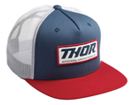 Thor MX Motocross Standard Trucker Snapback Hat (Patriot)