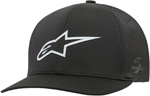 Alpinestars AGELESS Lazer Tech Curved Bill Flex-Back Hat/Cap (Black)