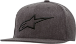 Alpinestars AGELESS Flat Bill Flex-Back Hat/Cap (Gray/Black)