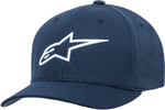 Alpinestars AGELESS Mock Mesh Curved Bill Flex-Back Hat/Cap (Blue/White)