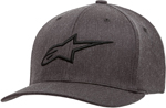Alpinestars AGELESS Curve Flex-Back Hat/Cap (Gray/Black)
