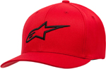 Alpinestars AGELESS Curve Flex-Back Hat/Cap (Red/Black)