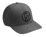 Thor MX Motocross Iconic Curved-Bill FlexFit Hat/Cap (Black)
