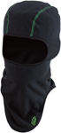 Arctiva Fleece Balaclava (Black/Green)