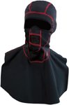 Arctiva WindShield Fleece Balaclava w/ Dickie (Black/Red)