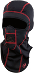 Arctiva WindShield Fleece Balaclava (Black/Red)