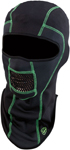 Arctiva Pro Stretch Balaclava (Black/Green)