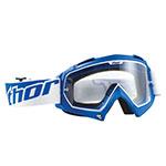 THOR MX Motocross ENEMY Goggles (Blue)
