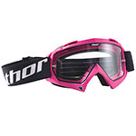 THOR MX Motocross ENEMY Goggles (Pink)