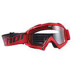 THOR MX Motocross ENEMY Youth Goggles (Red)