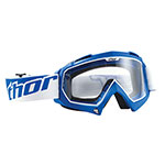 THOR MX Motocross ENEMY Youth Goggles (Blue)